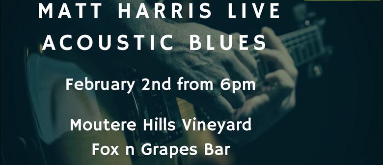 Matt Harris Acoustic Blues