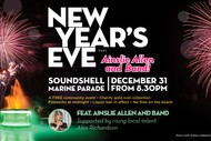 Napier's Community New Year's Eve Celebration