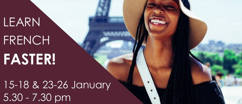 Adults' French Holiday Programme