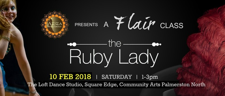 Aziza Flair - The Ruby Lady