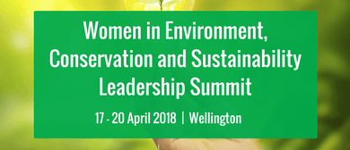 Women in Environment, Conservation and Sustainability Leader
