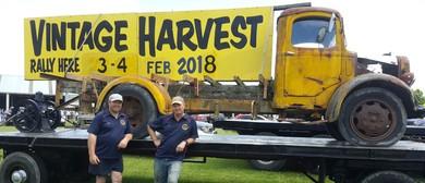 Vintage Harvest Rally