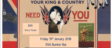 Your Country Needs You 1940s Biltz Party