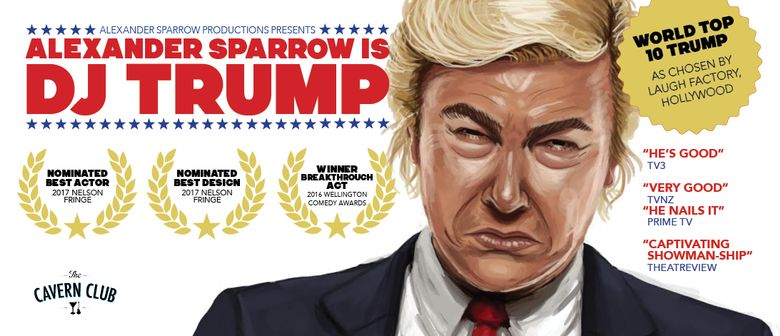 One Night Only: Alexander Sparrow is DJ Trump