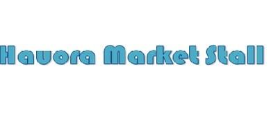 Hauora Market Stall