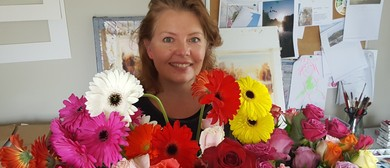 Creating Contemporary Floral Watercolours with Claudia Slane