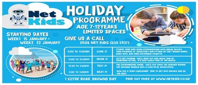 Net Kids Browns Bay Holiday Programme