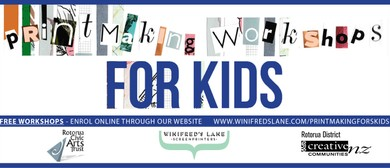 Printmaking Workshop for Kids