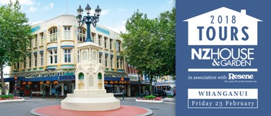 NZ House & Garden House Tours - Whanganui 2018