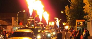 Wairarapa Balloon Festival - Tranzit Burner Parade Greytown