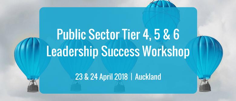 public sector tier 4 5 6 leadership success workshop auckland