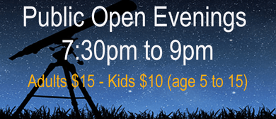 Astronomy Public Open Nights