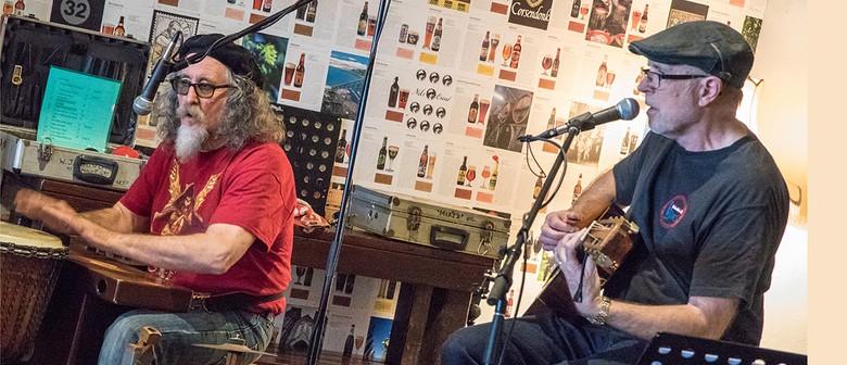 Mike Garner and Warren Houston