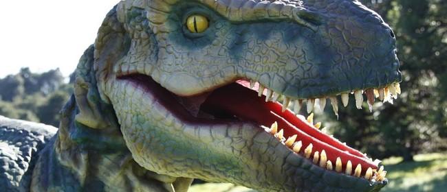 Dinosaurs at Sydenham Botanic Park