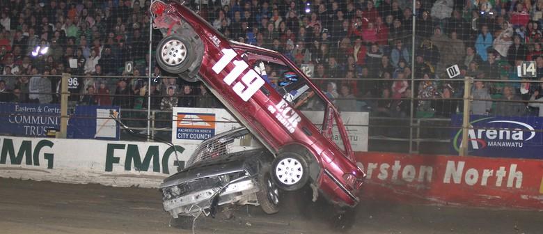 Ramp Demolition Derby & Holden Saloon Speed Week