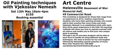 Oil Painting Workshop With Vjekoslav Nemesh