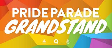 Auckland Pride Parade Grandstand