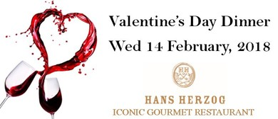 Valentine's Day Dinner - Hans Herzog Gourmet Restaurant