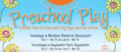 Summer Fun Preschool Play