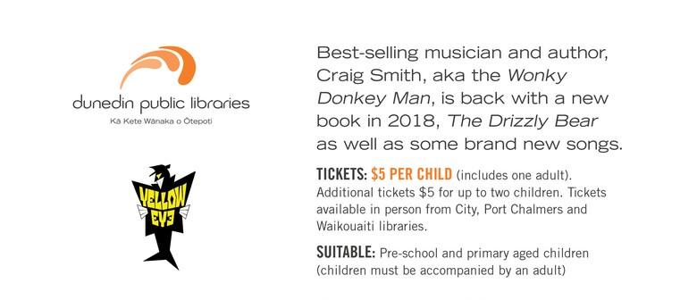 Craig Smith - Wonky Donkey Man - New Book Release