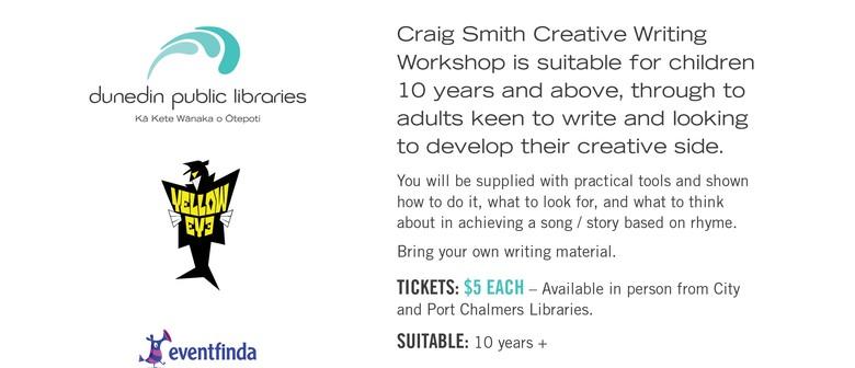 Craig Smith - Wonky Donkey Man - Creative Writing Workshop