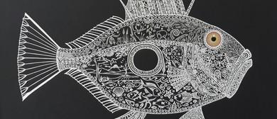 Animalia II: Pen & Ink Drawings by Vivian McKenna
