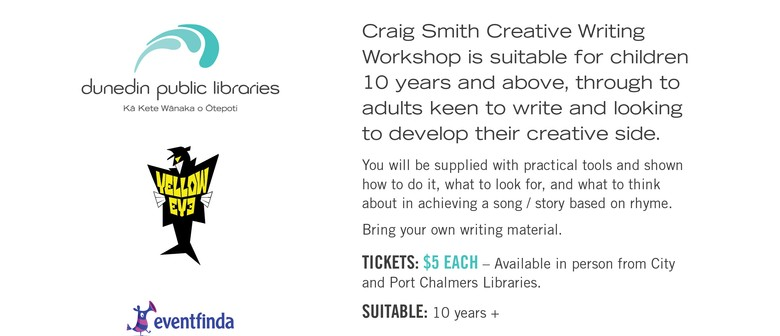Craig Smith - Wonky Donkey Man - Creative Writing Workshop