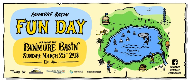 Panmure Basin Fun Day