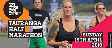 Pay What You Want Tauranga Half Marathon
