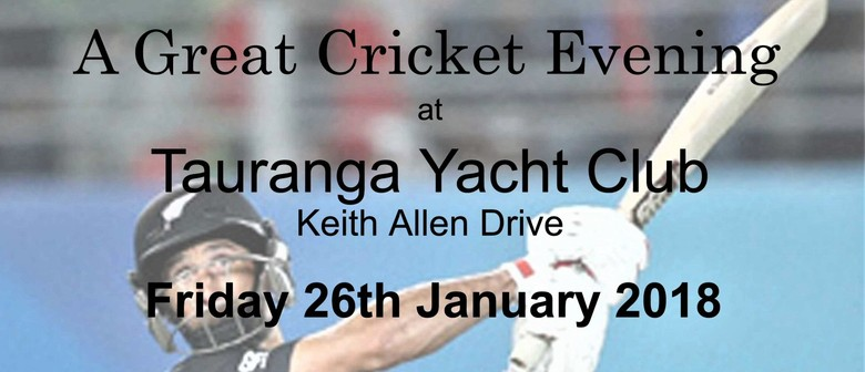 A Great Cricket Evening with Grant Elliot
