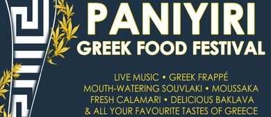 Paniyiri - Greek Food Festival