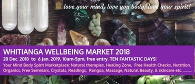 Whitianga Wellbeing Market 2018