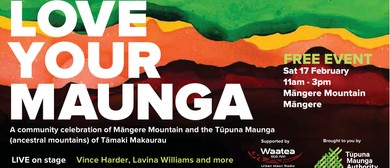 Love Your Maunga