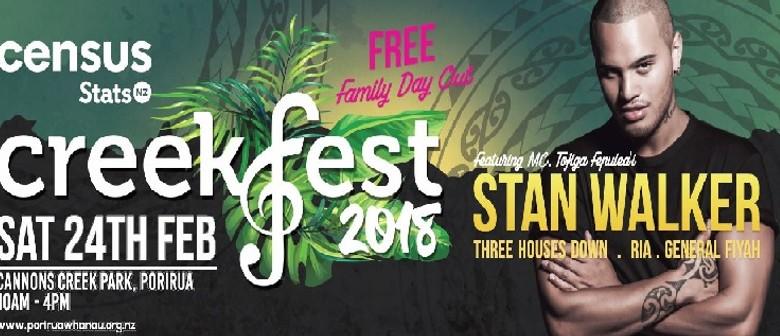 Creekfest 2018