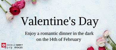 Valentine's Day - Unique Dinner In the Dark