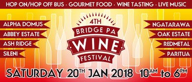 Bridge Pa Wine Festival 2018