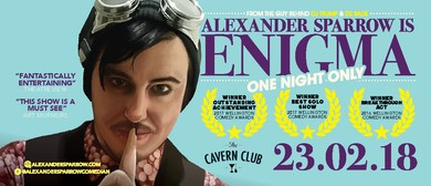One Night Only: Alexander Sparrow is Enigma