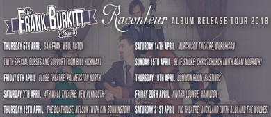 The Frank Burkitt Band Raconteur Tour