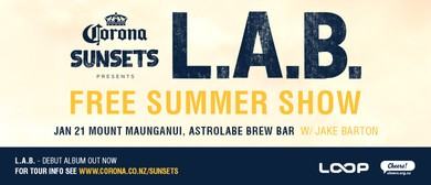 Corona Sunsets Presents L.A.B. w/ Jake Barton
