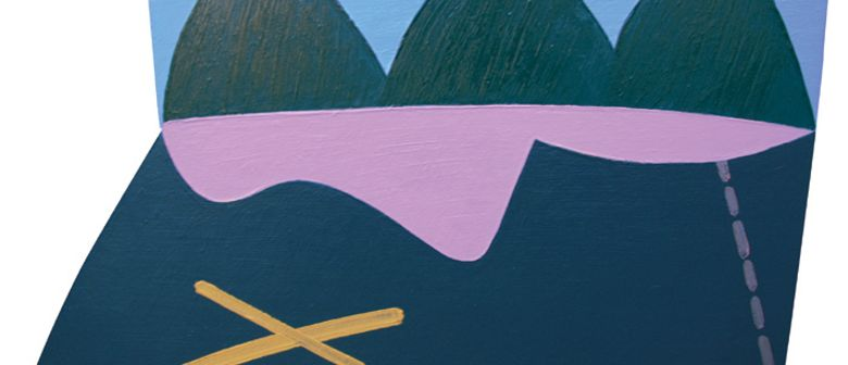 Eion Stevens: Shaped Paintings