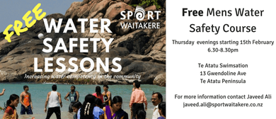 Sport Waitakere - Water Safety Courses - Men Only Workshops