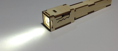 Workshop: Make an Awesome Wooden Flashlight