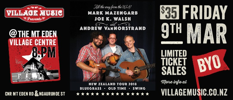 All The Way From The USA!  Mark Mazengarb & Friends