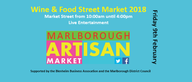 Marlborough Wine & Food Artisan Market 2018