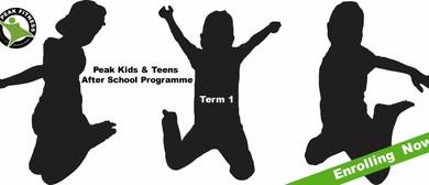 Peak Teens After School Programme