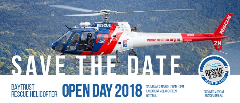 BayTrust Rescue Helicopter Open Day 2018