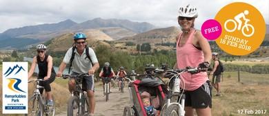 Queenstown Park Station Open Day - A Recreational Bike Ride