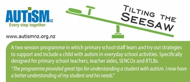 Autism Workshop Tilting the Seesaw