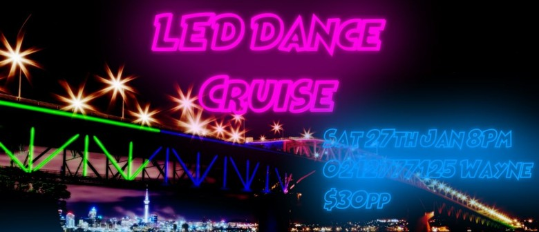 led dance cruise viewing vector lights show auckland eventfinda
