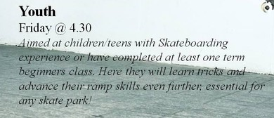 Learn to Skateboard - Youth